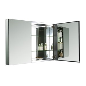GEF Avila armoire à pharmacie en aluminium, 40 po.