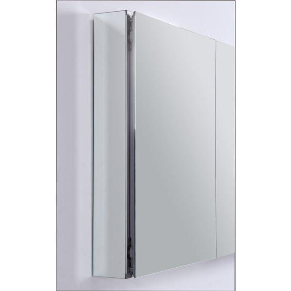 GEF Avila Aluminum Medicine Cabinet, 50-in