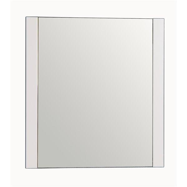 GEF Brooklyn Bathroom Mirror, 30-in White