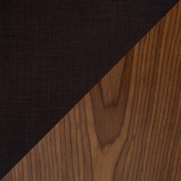 Lumisource Vintage Mod Walnut Mid Century Bar Stool
