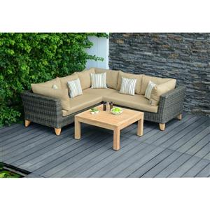 Scancom Tan 4-Piece Scancom Sydney Seating Set