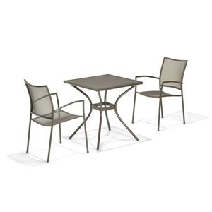 Scancom Plantagoo 3-Piece Steel Mesh Outdoor Bistro Set