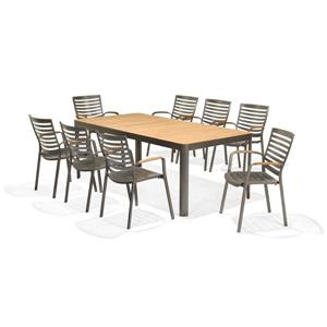 Scancom Portals 9-Piece Outdoor Dining Set