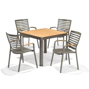 Scancom Portals 5-Piece Outdoor Dining Set