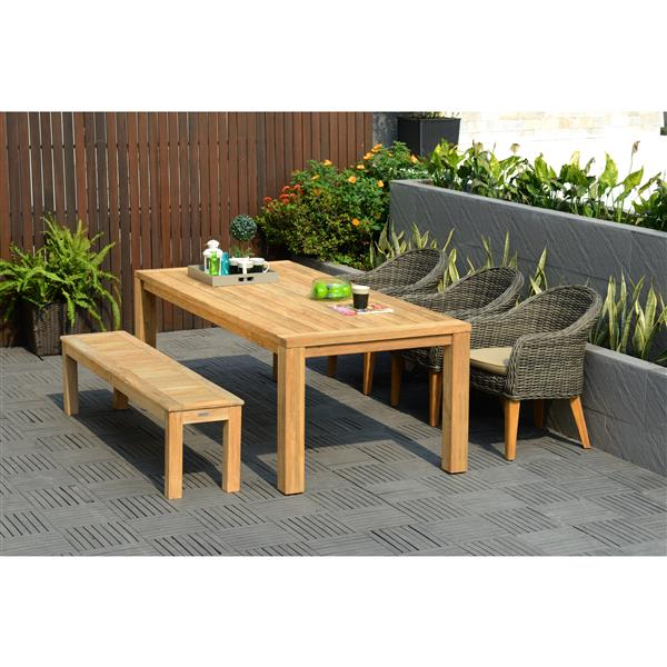Scancom Guam 5-Piece Outdoor Dining Set