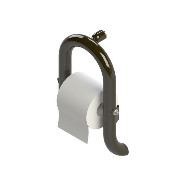 Invisia Collection Oil-Rubbed Bronze Wall Toilet Roll Holder