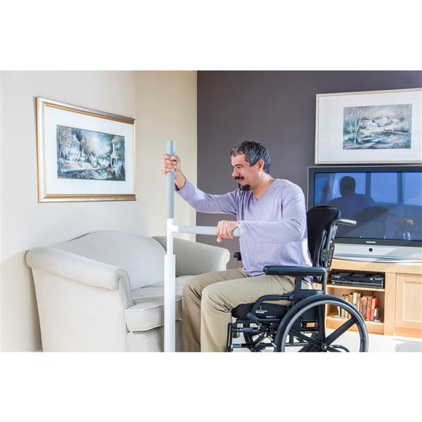 HealthCraft Products 19-in Portable Advantage Rail™