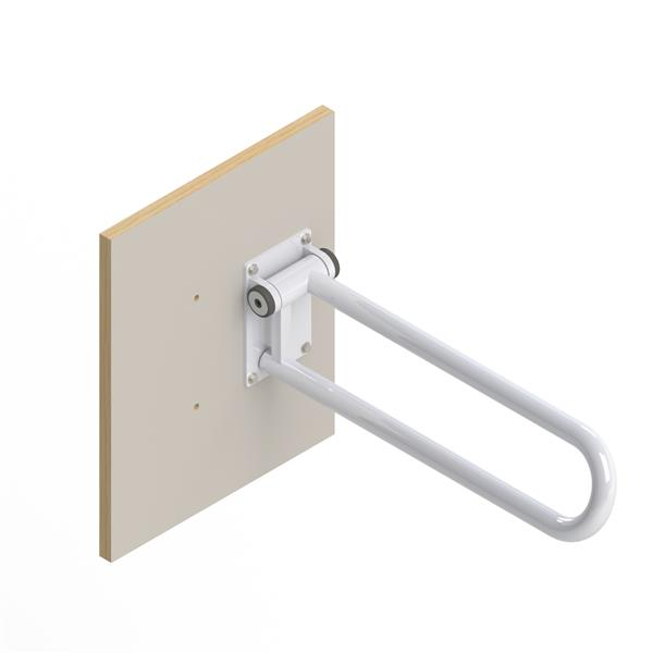 HealthCraft Products PT Rail™ Off White Wood Wall Plate Bathroom Safety Accessory