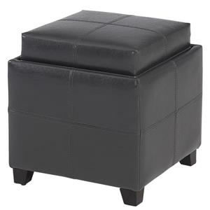 Storage Cube Grey  with Reversible Tray