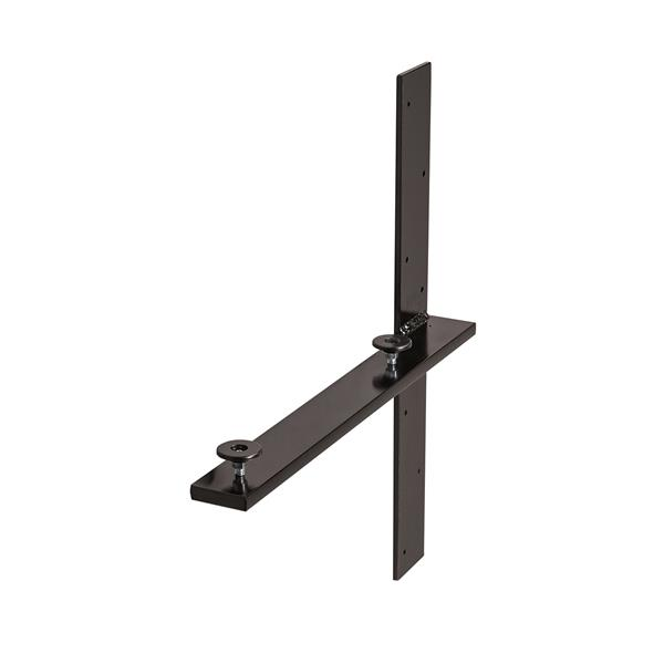 Unik Stone Wall Support - 19-in - Black