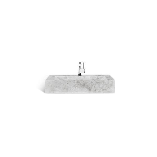 Unik Stone Sink - Ice Marble - 30-in