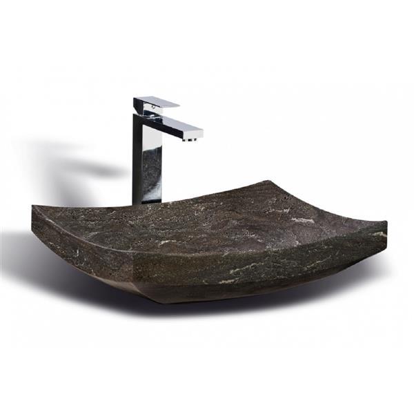 Unik Stone Sink - Limestone - 20-in