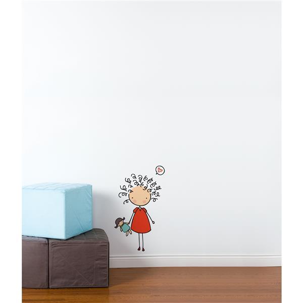 Appliqué mural, frison frisette Piccolo
