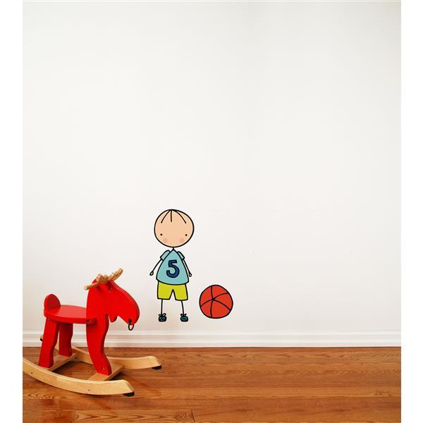 Appliqué mural, jouons au ballon Piccolo