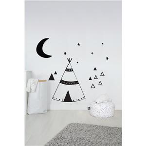 ADzif Big Tipi Wall Decal - 6.1' x 6.9'