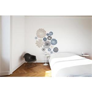 ADzif Flowers Wall Decal - 4.2' x 4.4'