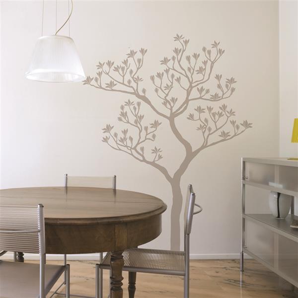 ADzif Romantic Tree Wall Decal - 4.7' x 6'