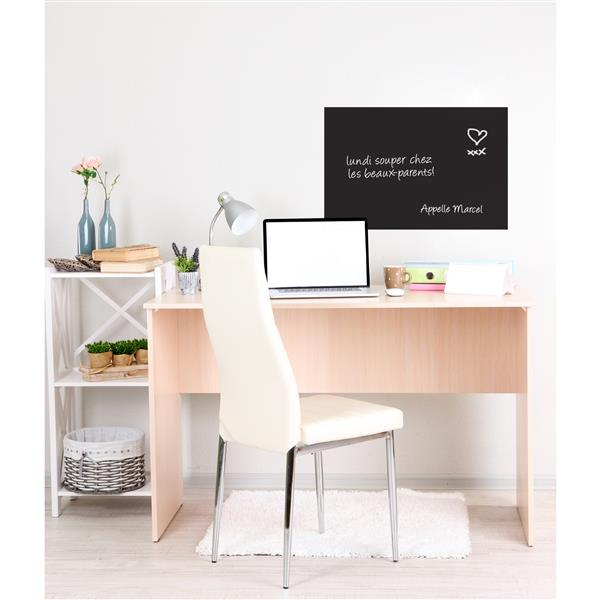 ADzif Rectangular Blackboard Wall Decal - 2.5' x 1.7'