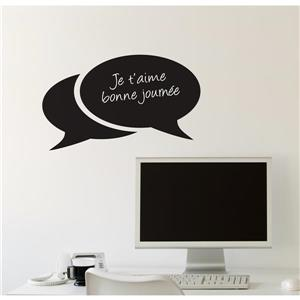 ADzif Bubbles Chalkboard Wall Decal - 1.8' x 1.1'