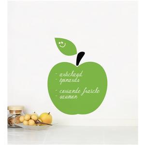 Appliqué mural, pomme verte, 1,1' x 1,3'