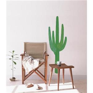 ADzif King Cactus Wall Decal - 1.6' x 5'