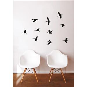ADzif Birds' Flight Wall Decal - 4' x 2.4'