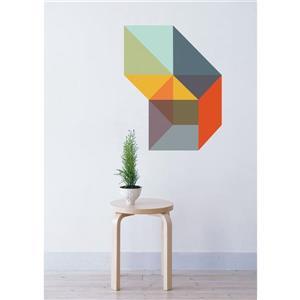 """Appliqué mural, """"Gropius"""", 2,3' x 2,8'"""