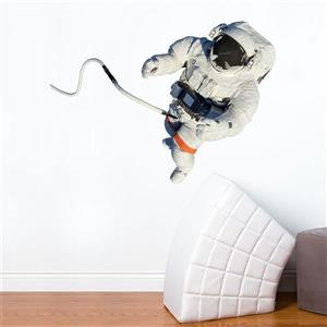 Appliqué mural, astronaute , 2,8' x 4,3'