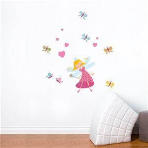 Appliqué mural, princesse Luna , 2,7' x 3'