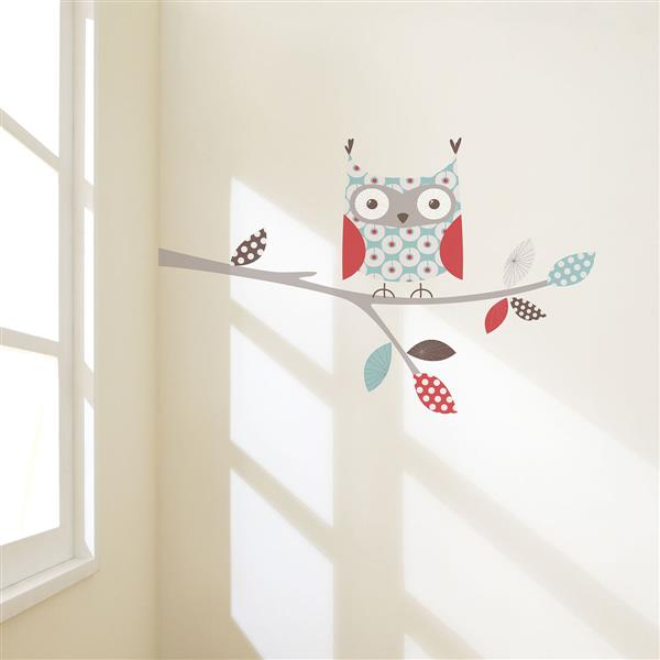 ADzif Little Owl Wall Decal - 4.1' x 2.3'