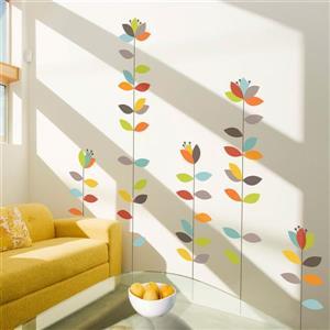 Bloemendaal Wall Decal - 4.8' x 4.5'