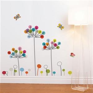 Buttercups Wall Decal - 4.6' x 3.8'