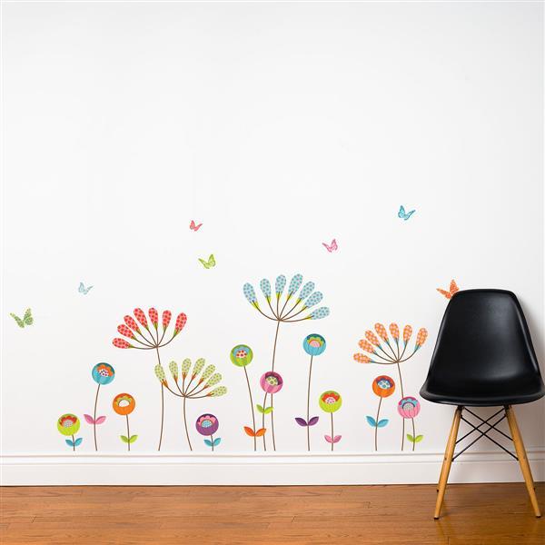 ADzif Pompom Wall Decal - 5.3' x 3'