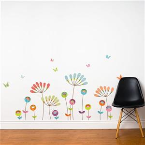 ADzif Pompom Wall Decal - 5.3' x 3'
