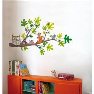 ADzif Reading Corner Wall Decal for Kids - 2.7' x 4.4'