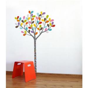 Appliqué mural pour enfants, petit bois, 4,8' x 3,3'