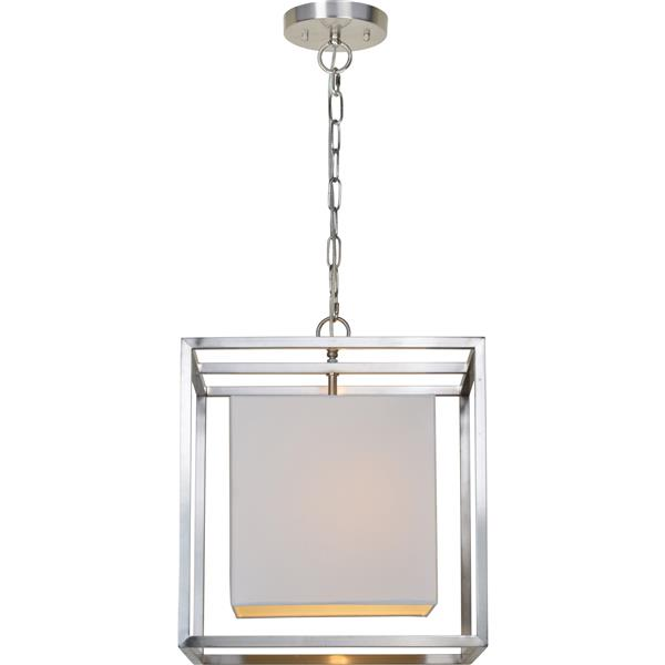 Notre Dame Design Eastleigh Pendant Light - Brushed Nickel