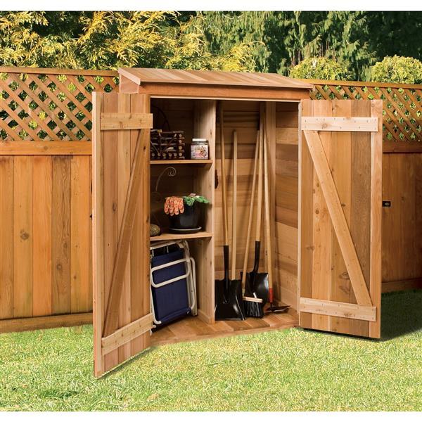 Cedarshed Gardener  2-ft x 4-ft Cedar Storage Shed