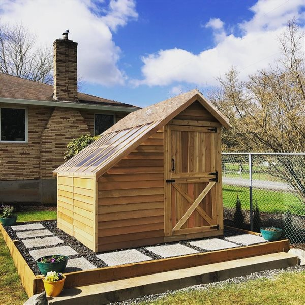 Cedarshed Sunhouse 8-ft x 8-ft Cedar Storage Shed