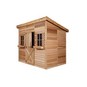 Cedarshed Studio9-ft x 6-ft Cedar Storage Shed