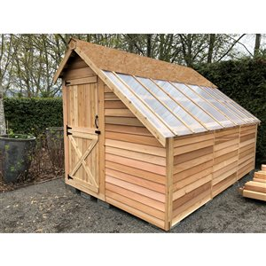 Cedarshed Sunhouse 8-ft x 12-ft Cedar Storage Shed
