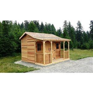 Cedarshed RanchHouse Storage Shed 12' x 12' Cedar