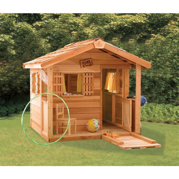 Remise de jardin PlayHouse, 6' x 6', cèdre