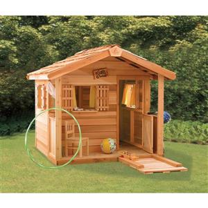 Cedarshed PlayHouse 6-ft x 6-ft Cedar Storage Shed