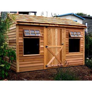 Cedarshed Haida Storage Shed 12' x 8' Cedar