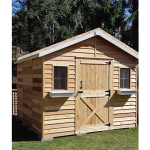 Cedarshed CedarHouse  10-ft x 8-ft Cedar Storage Shed