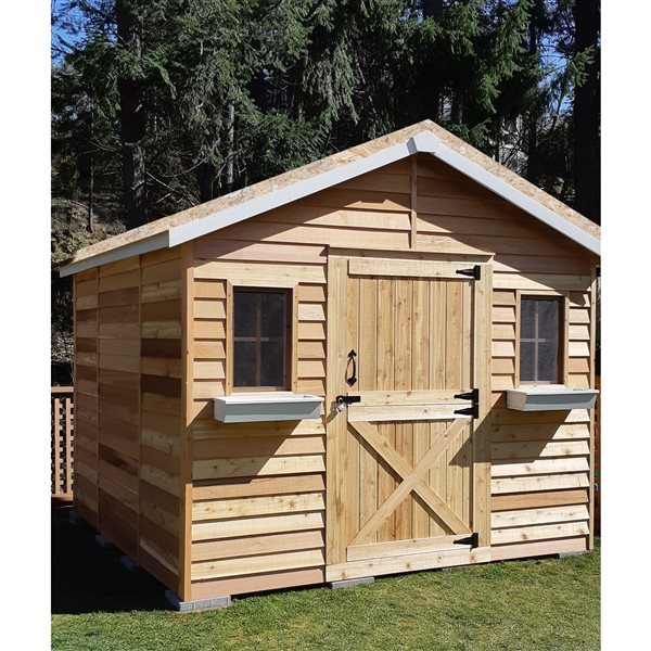 Cedarshed CedarHouse 10-ft x 10-ft Cedar Storage Shed