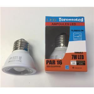 Ampoule DEL - PAR16 - 7 W - 3000 K -paquet de 10