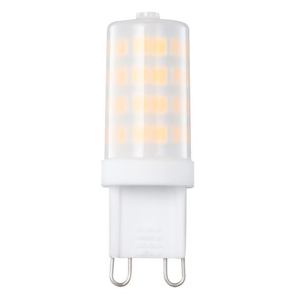 Ampoule DEL - G9 - 5 W - 3000 K - paquet de 10