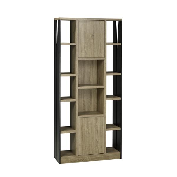 Brassex 70.75-in x 11.5-in x 31.5-in Cabinet with Shelves